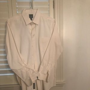 New Jos A Bank White Dress Shirt